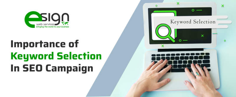 Importance of Keyword Selection in SEO Campaign