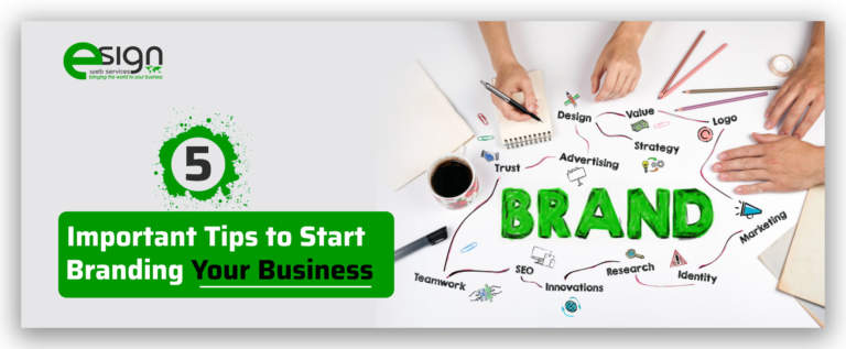 5 Important Tips to Start Branding Your Business